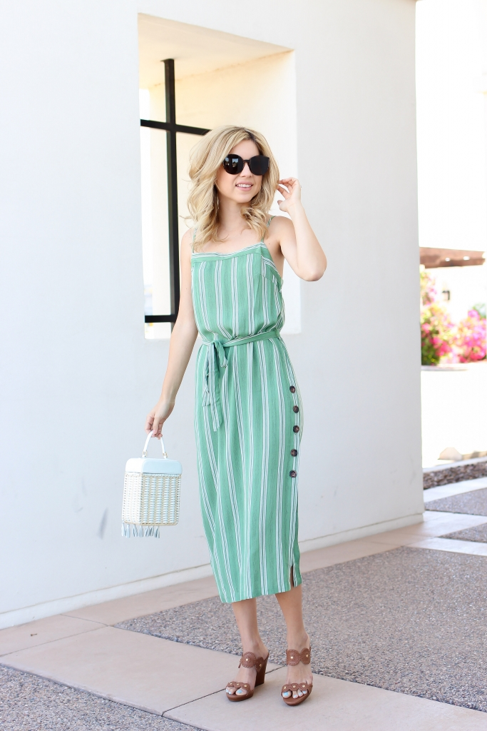 style - midi dress - mink pink - amazon - simplysutter