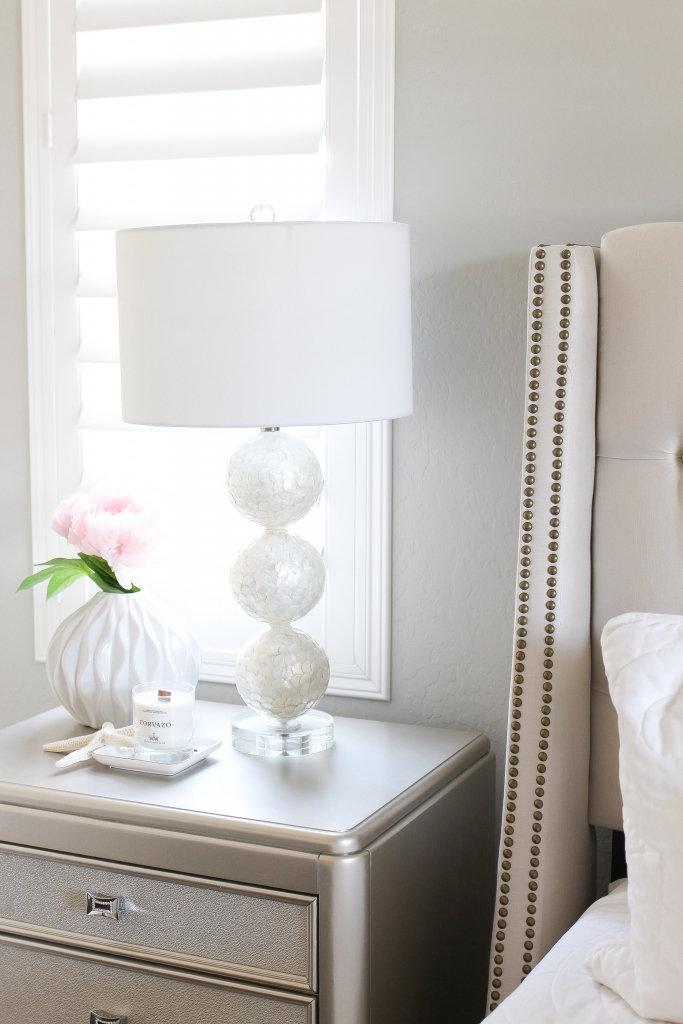 cadiz lamp - coastal room - master bedroom - lighting