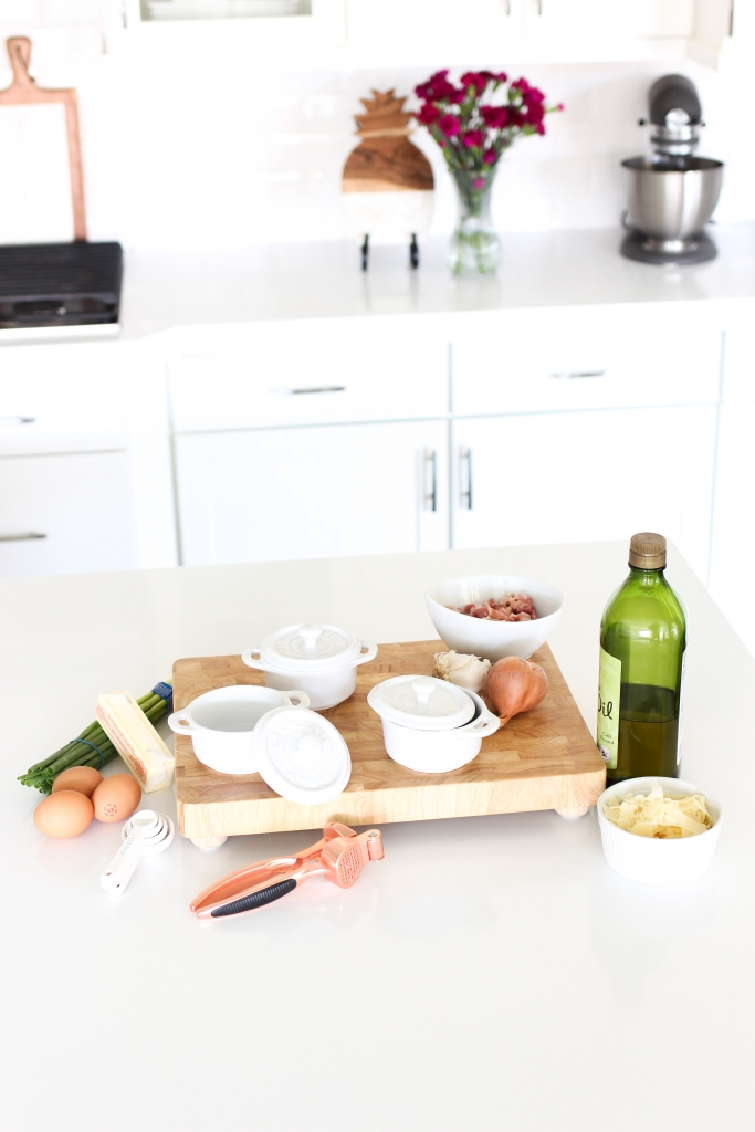 staub ramekins - cocotte - mini baked eggs - in the kitchen