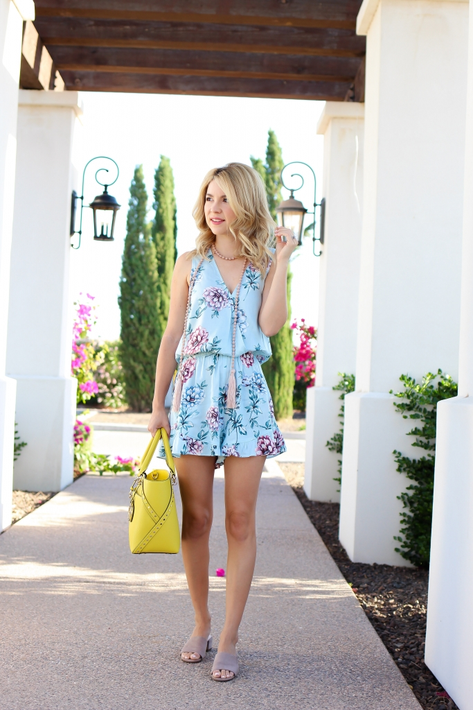 casual summer outfit - handbag style