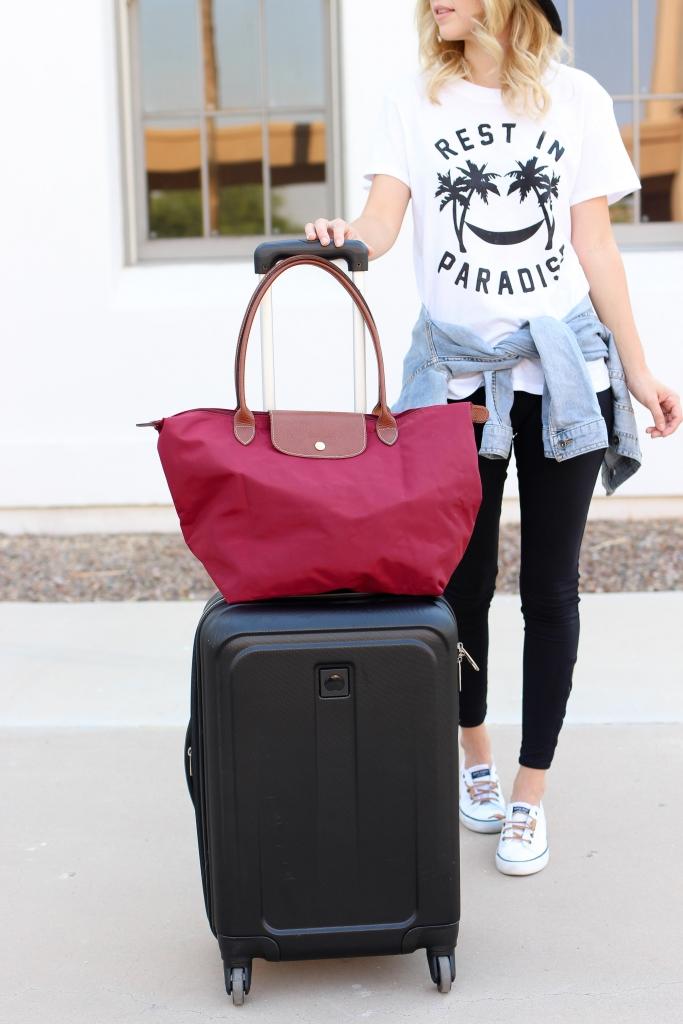 longchamp - travel tote - luggage