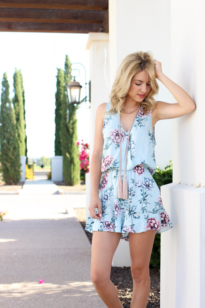 summer style - romper - simply sutter