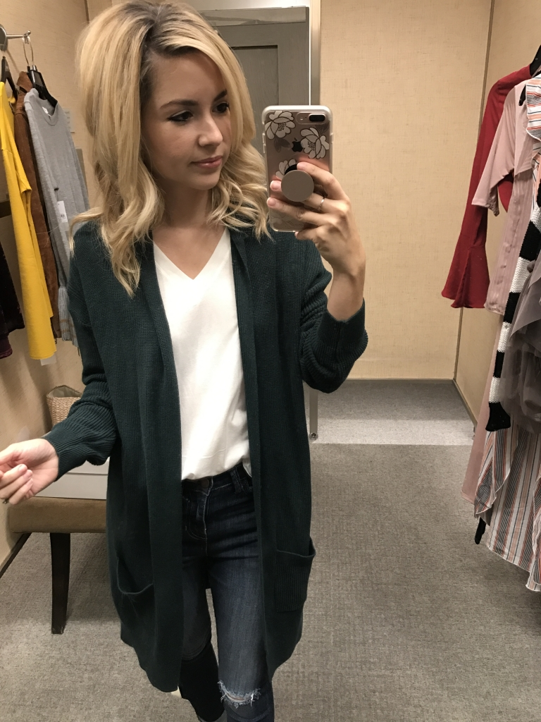 Nordstrom Sale - NSALE - Cardigan outfit
