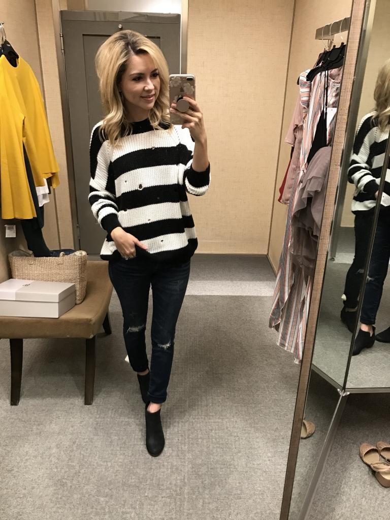 Nsale - Stripe sweater - nordstrom sweater - nordstrom anniversary