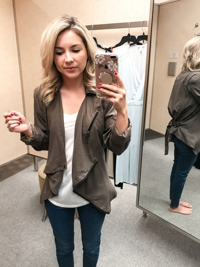 cargo jacket - olive jacket - fall fashion - Nordstrom Anniversary sale - fall style