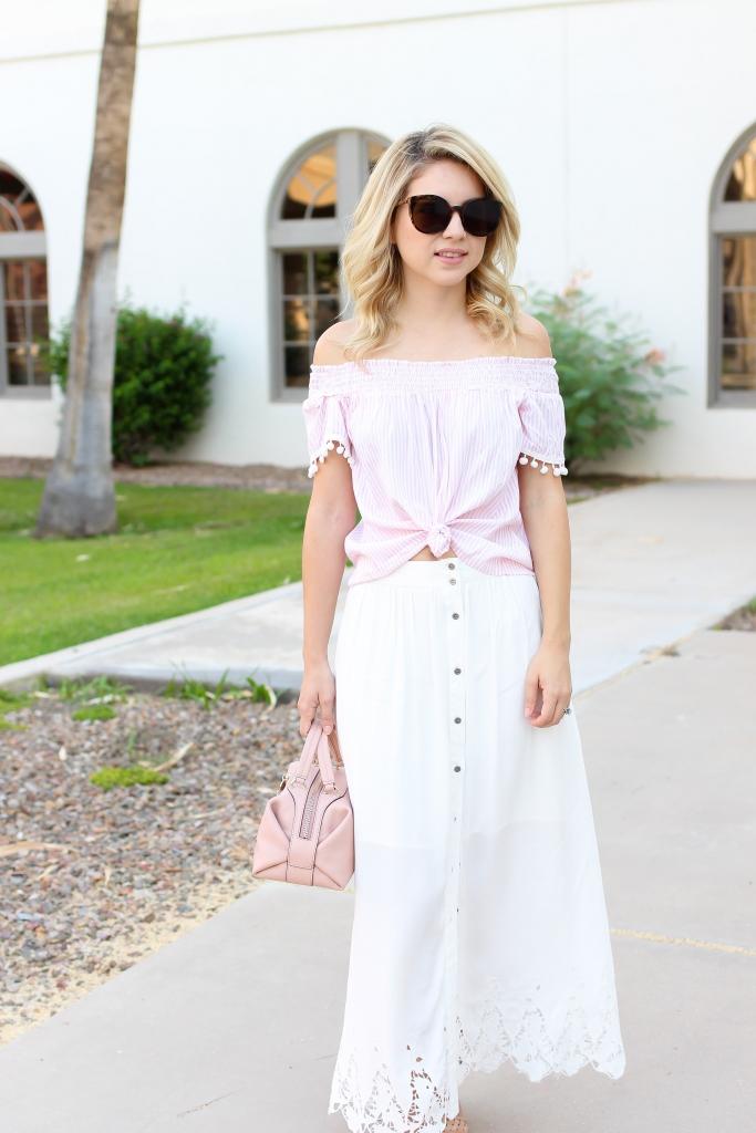 summer skirt - summer style - outfit - maxi skirt - simply sutter - nordsrom