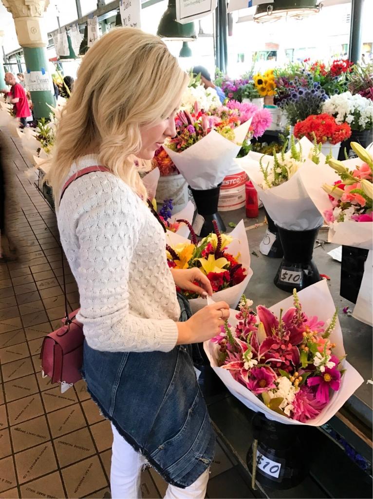 Seattle - Flower Market - Simply Sutter