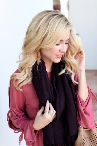 Simply Sutter - fall scarf - fall outfit
