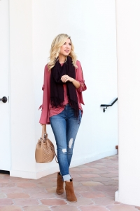 Simply Sutter - Fall Outfit - Arizona Mills - Easy Fall Outfit