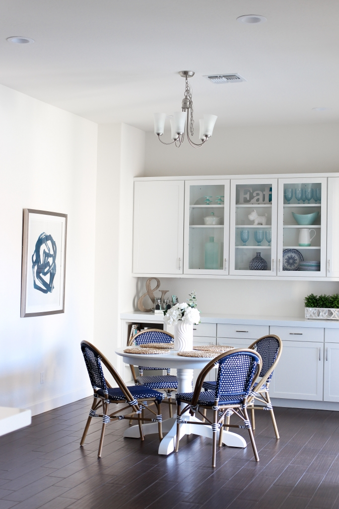 Simply Sutter - Kitchen Nook - Bistro Chairs - Dining Room
