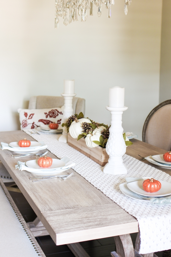 Simply Sutter - Dining Room - Fall dining room