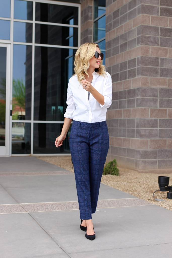 Simply Sutter - Ryan Fit Plaid Pant - Suit Pants - Fall workwear