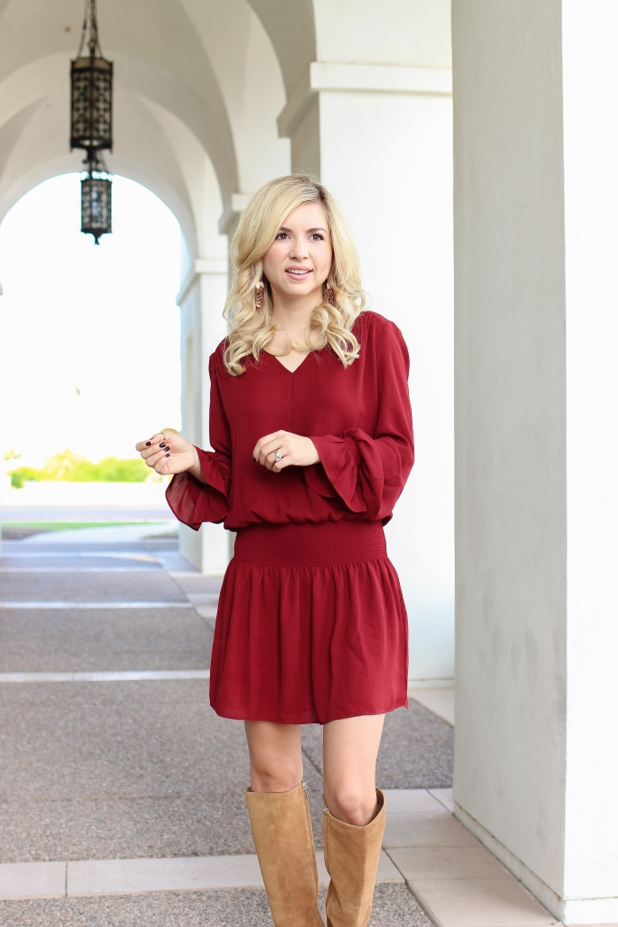 Simply Sutter - fall dress - fashion - style - midi dress