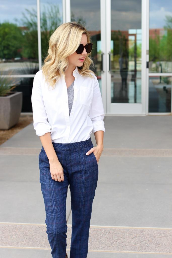 Simply Sutter - Plaid Pant - Suit pant - casual suit pant - dress shirt