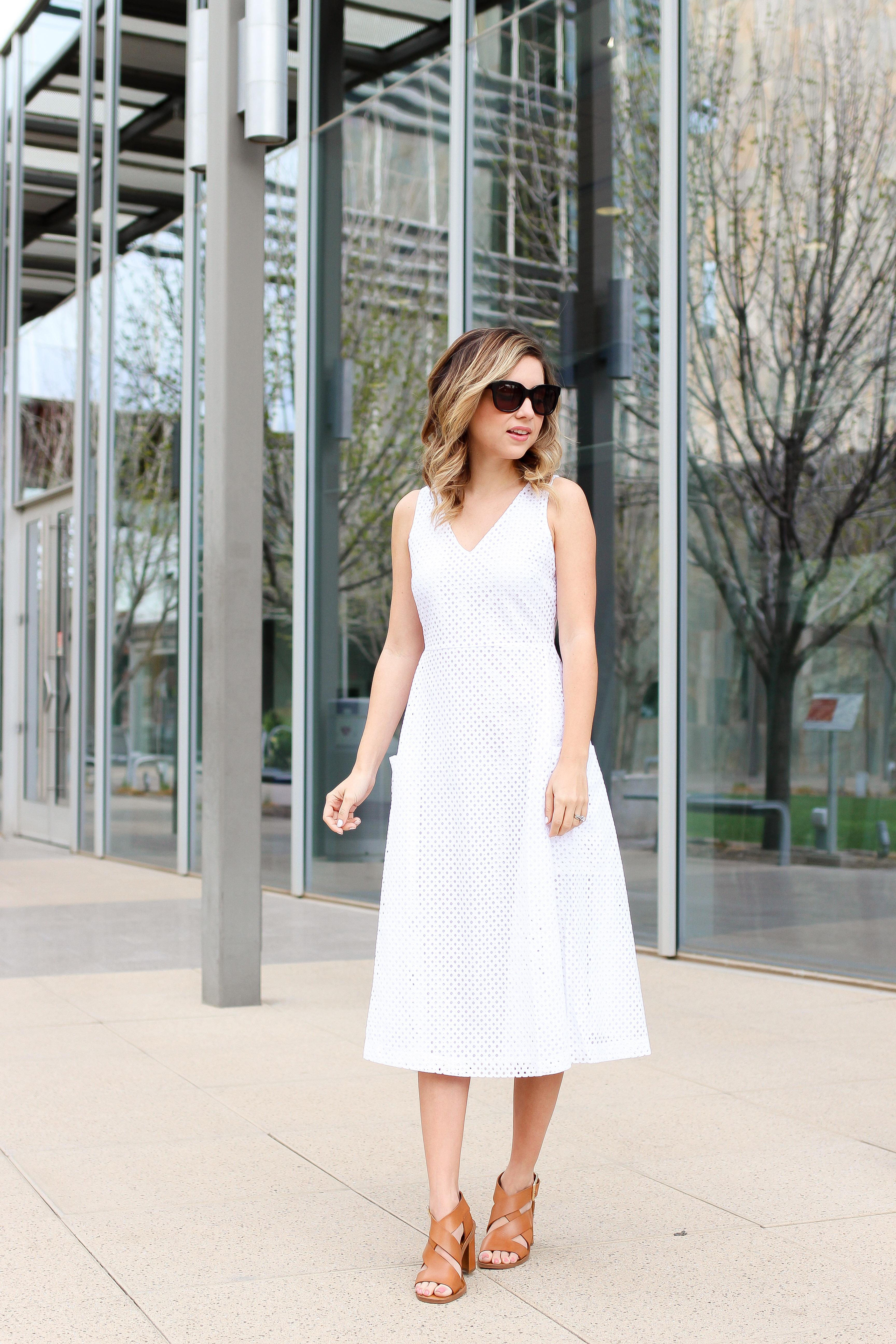 6f445f6608e Simply Sutter – Banana Republic – White Dress – Summer Dress – White Dress  outfit – best whtie dresses – summer style 2832