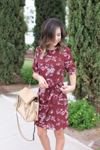 Simply Sutter - Fall Dress - Burgundy Dress - Fall Outfit - Best fall outfit