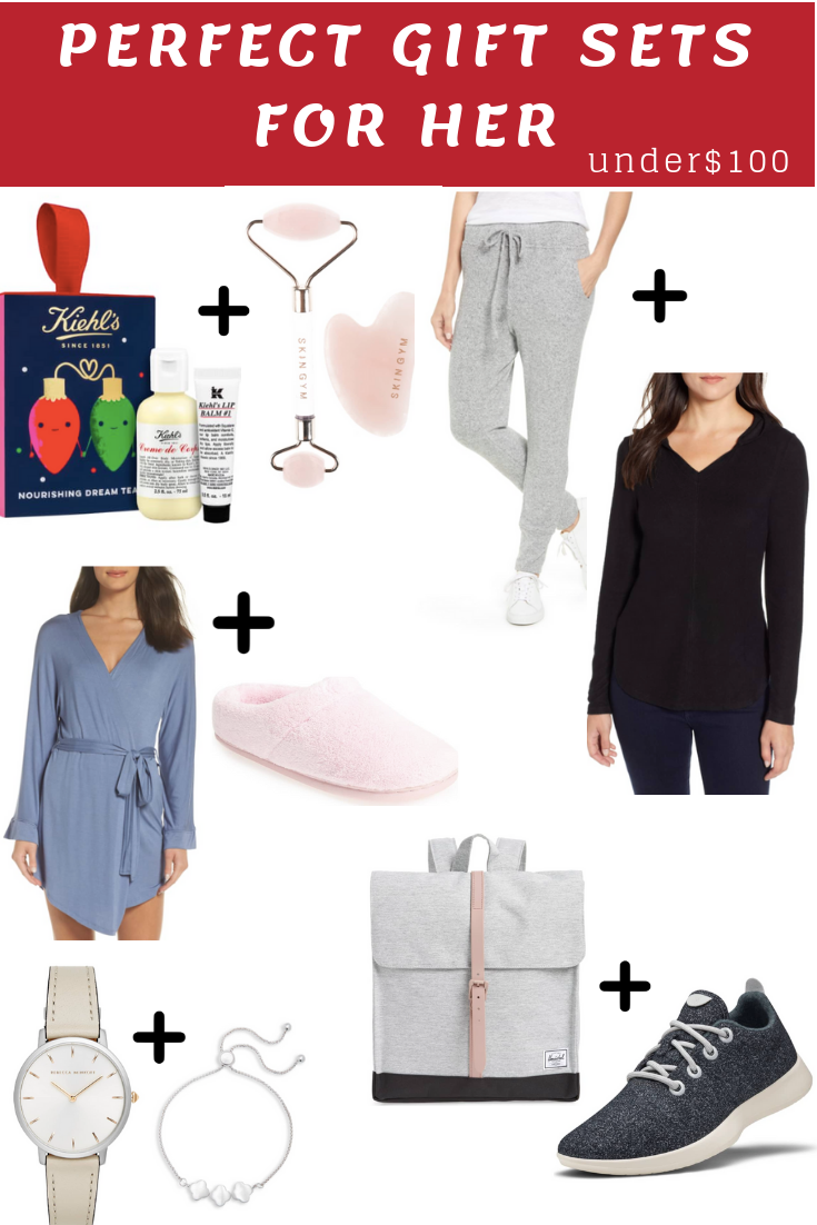 christmas gift set guide for her under $100
