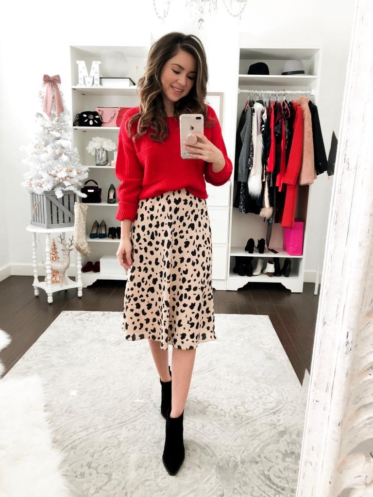 3 simple ways to wear a leopard skirt