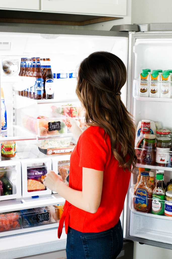 how to store items in your fridge