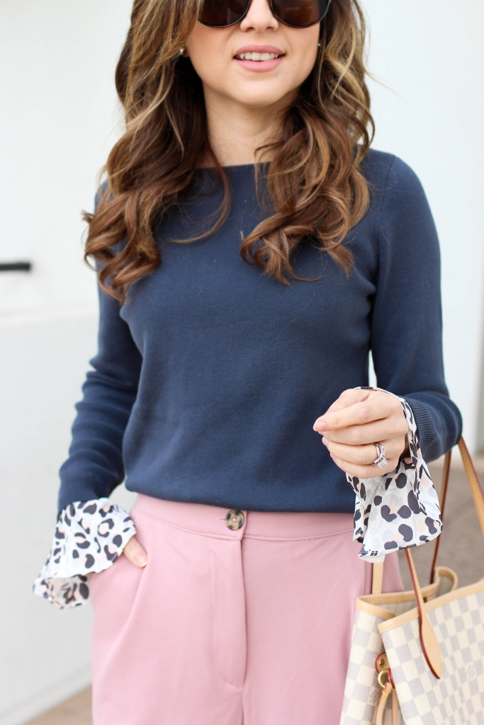 style blogger shares 5 pink pants to wear this season