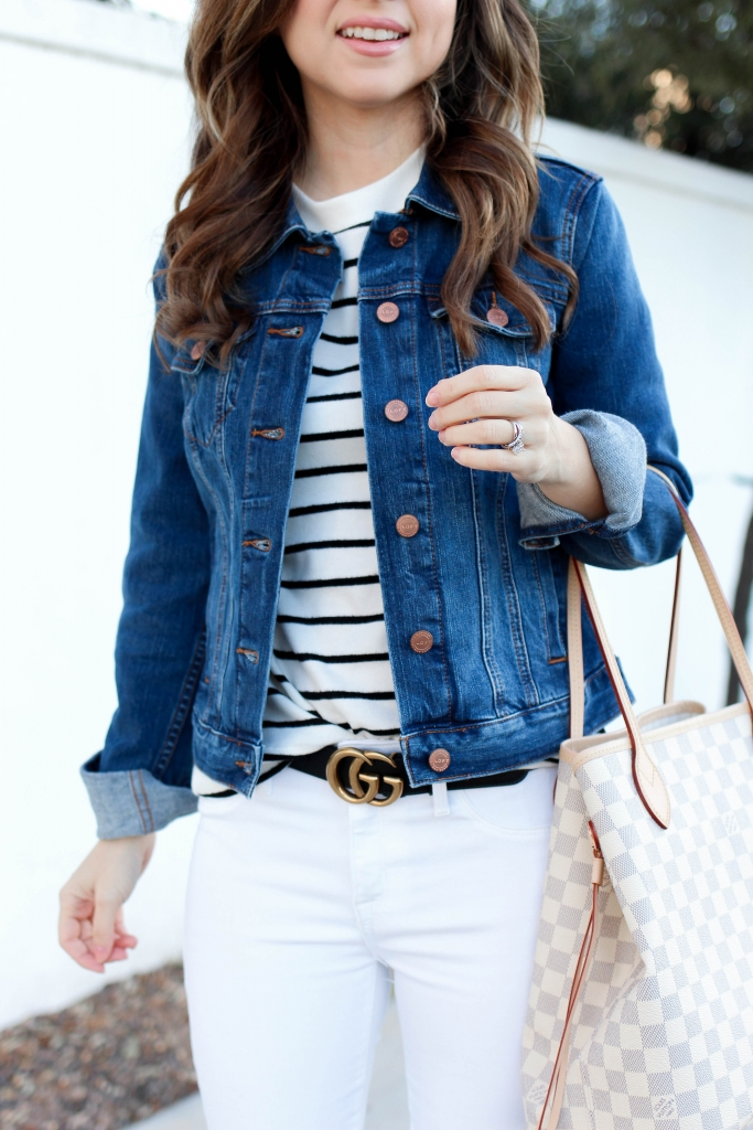 casual denim jacket outfit ideas
