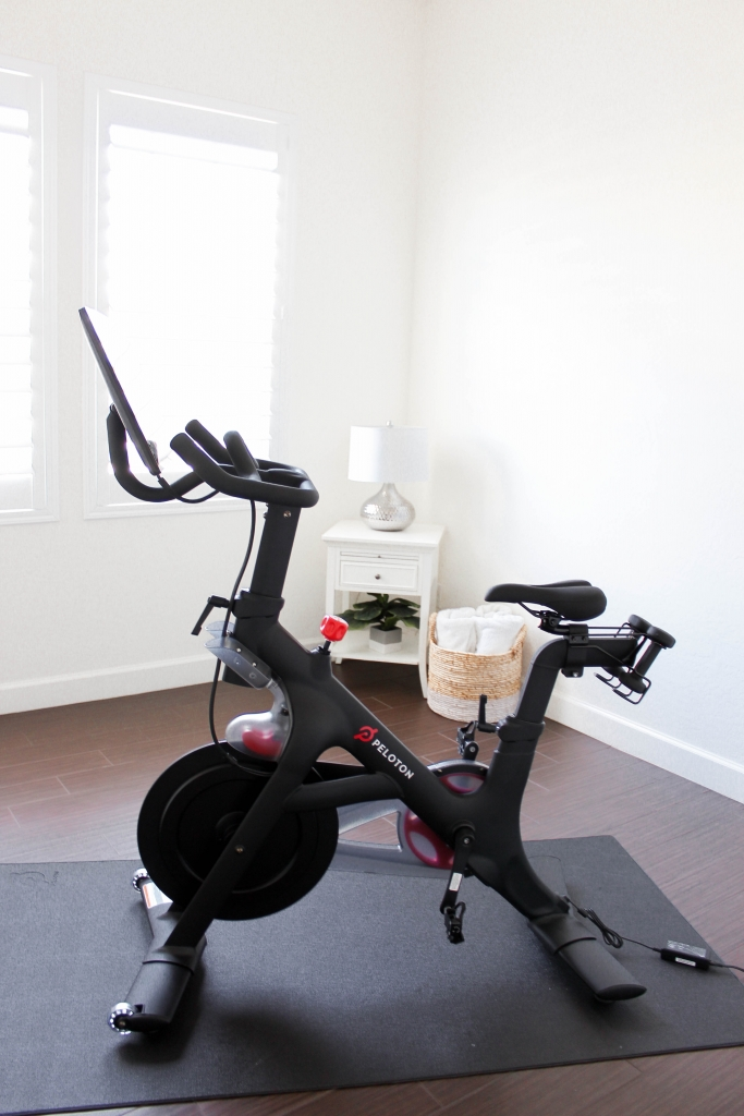best at home workout with Peloton