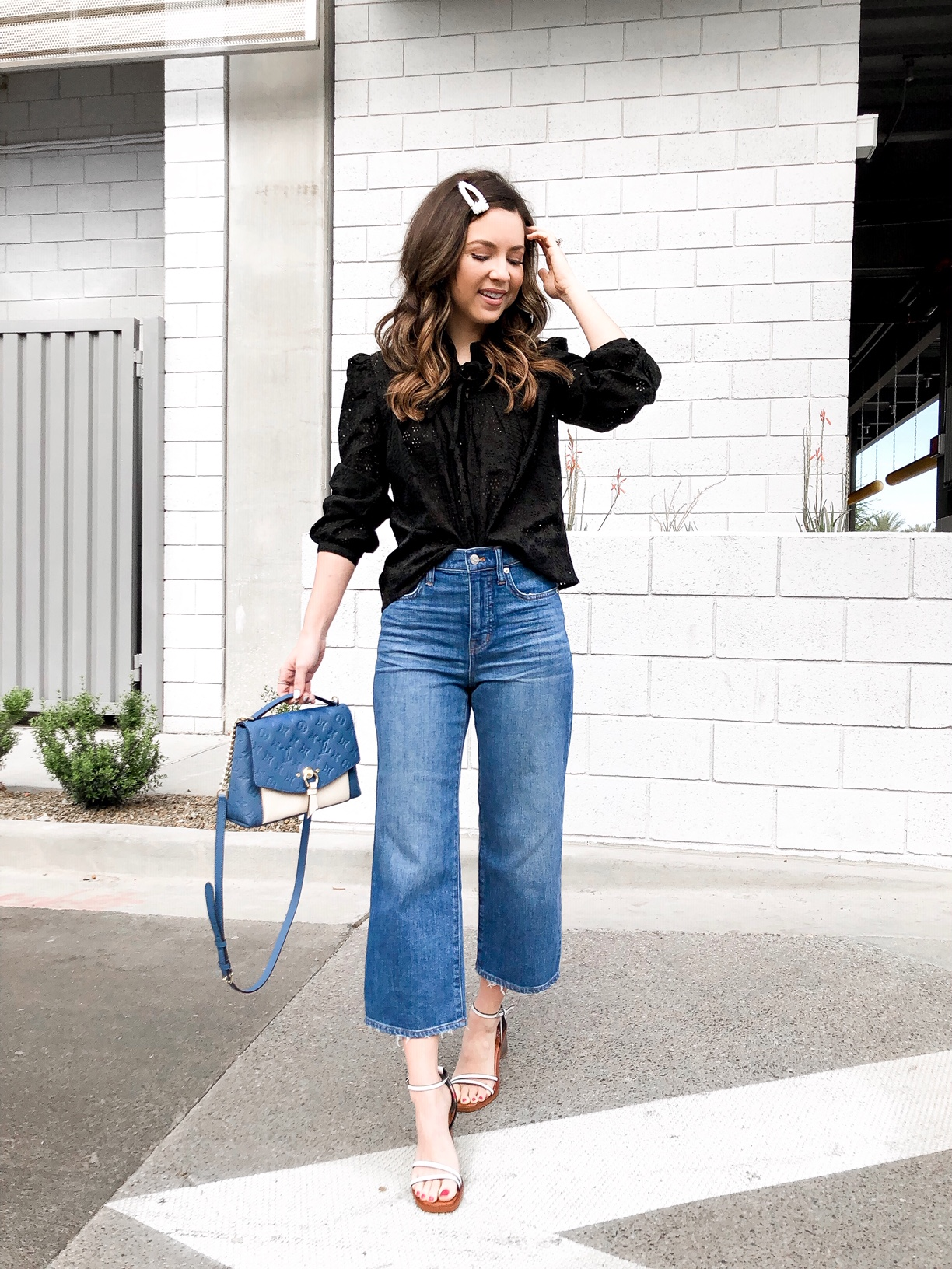 crop pant and jeans outfits