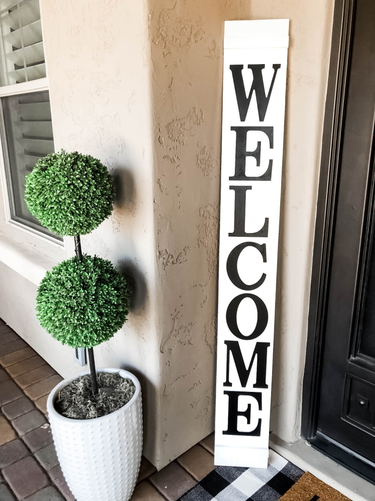 how to porch sign