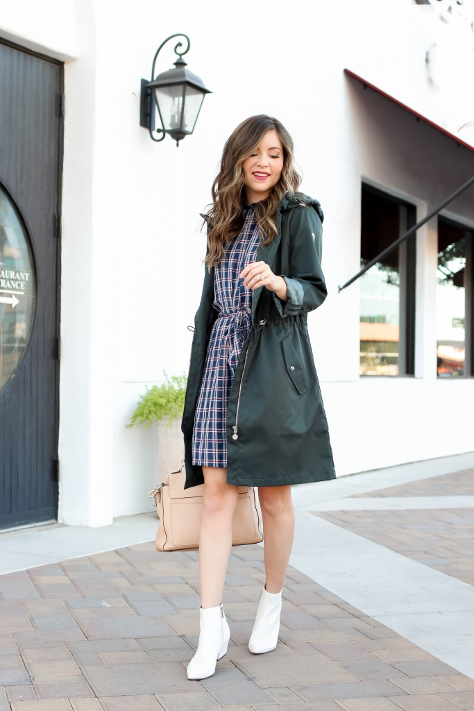 how to style a raincoat