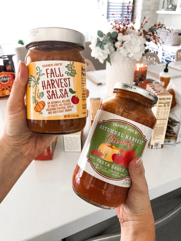 trader joes salsa and pasta sauce