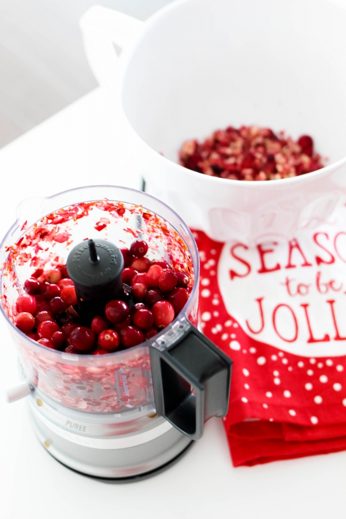 simple cranberry fluff