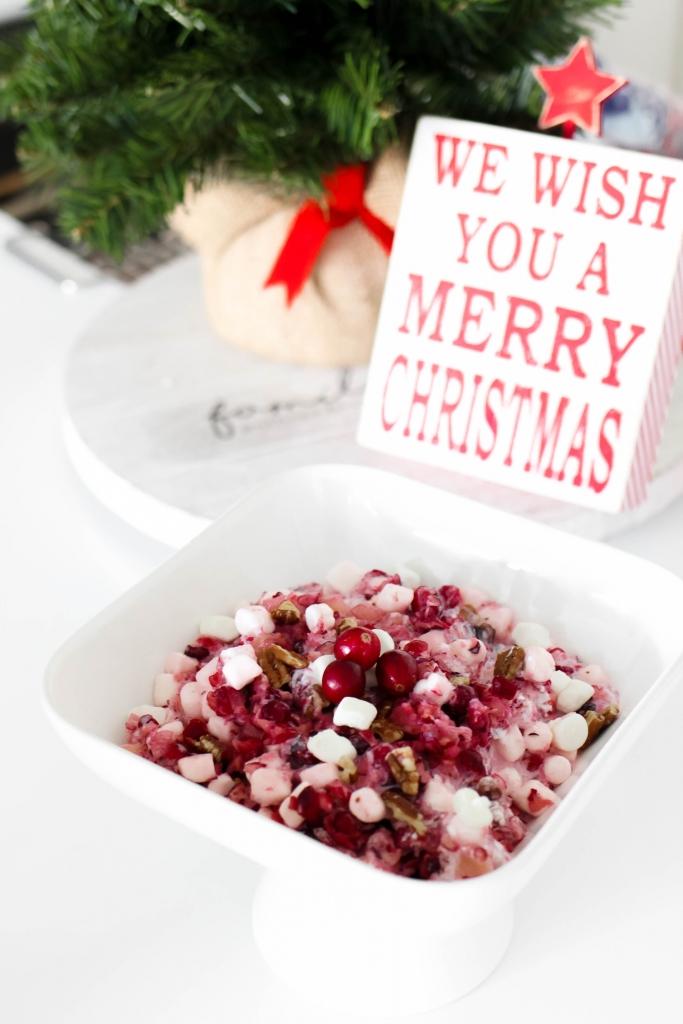 cranberry fluff recipe