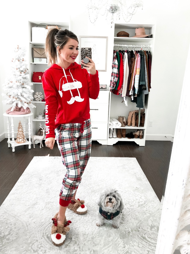 best plaid Christmas pajamas