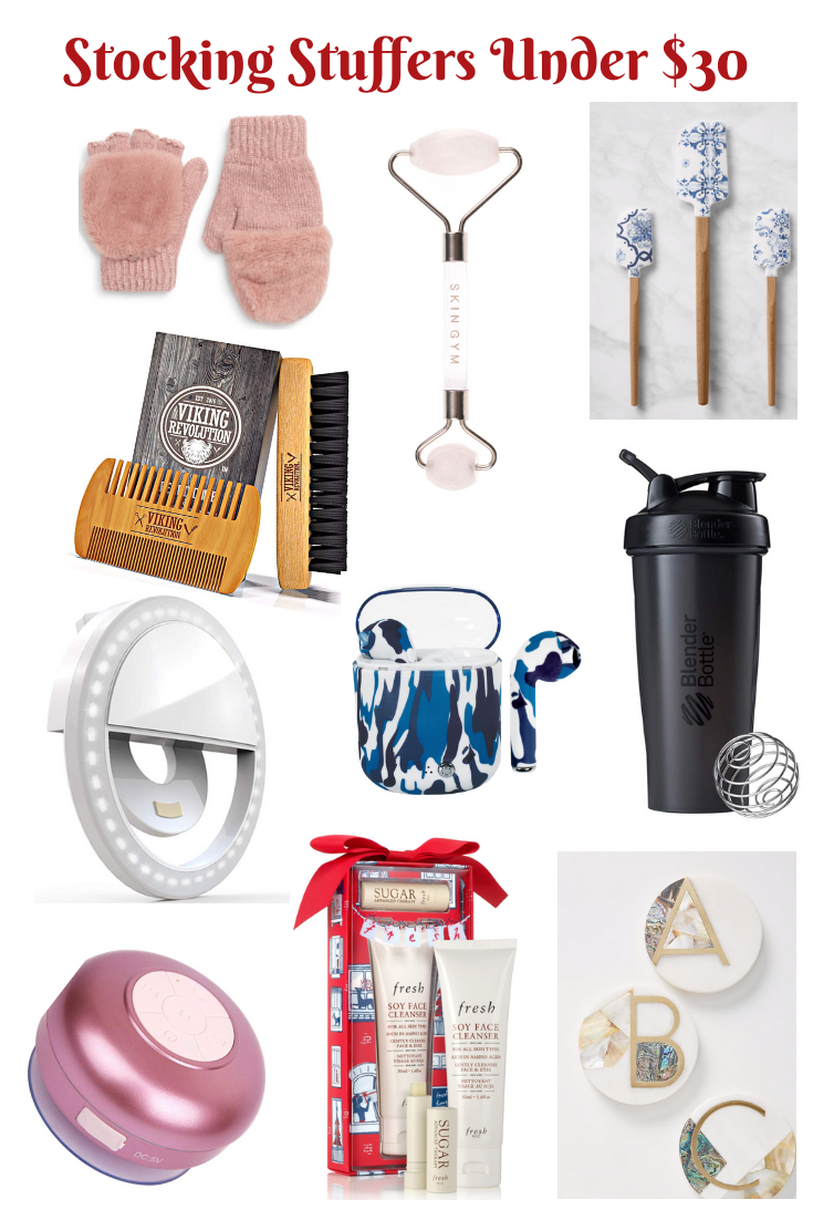 stocking stuffers Under $30