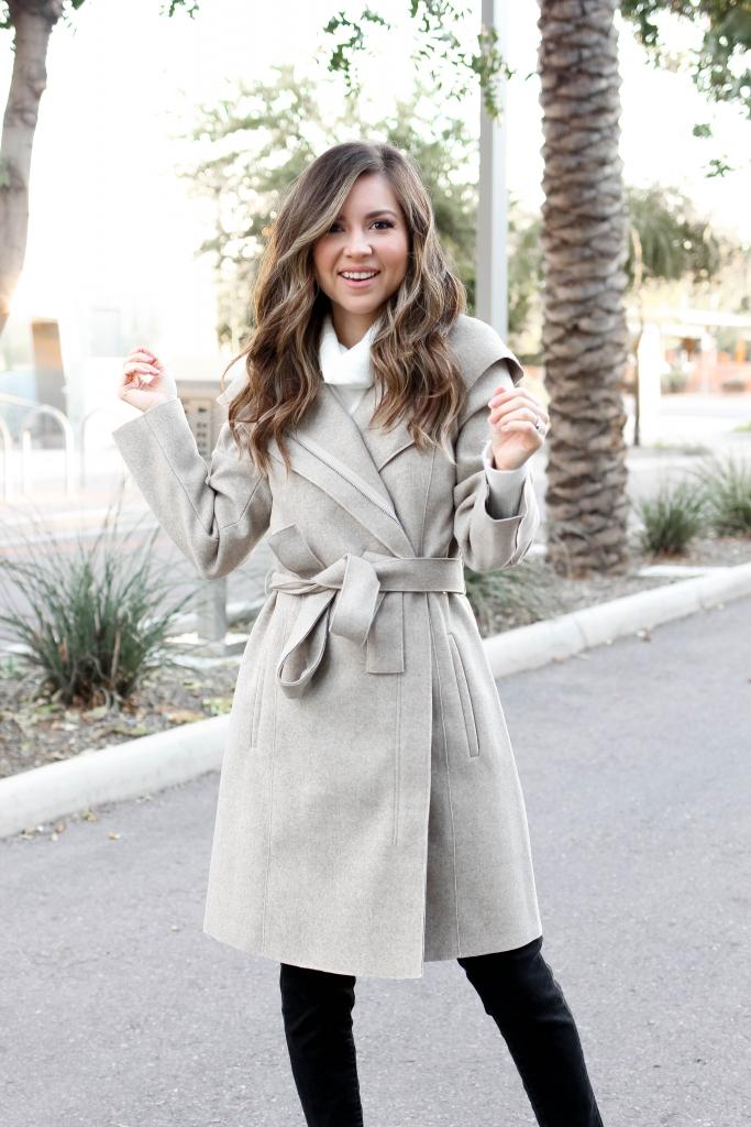 Bernardo beige coat
