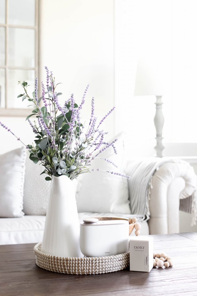 how to decorate with lavender