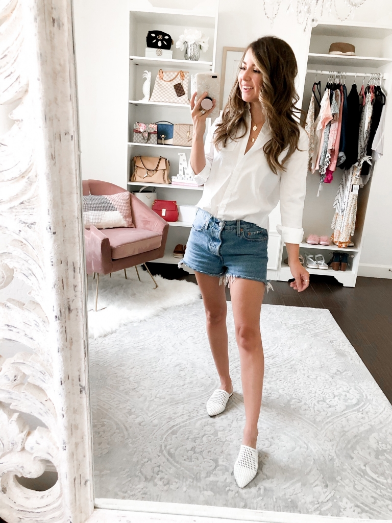 how to style cut off shorts