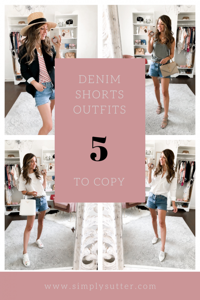 denim short style ideas
