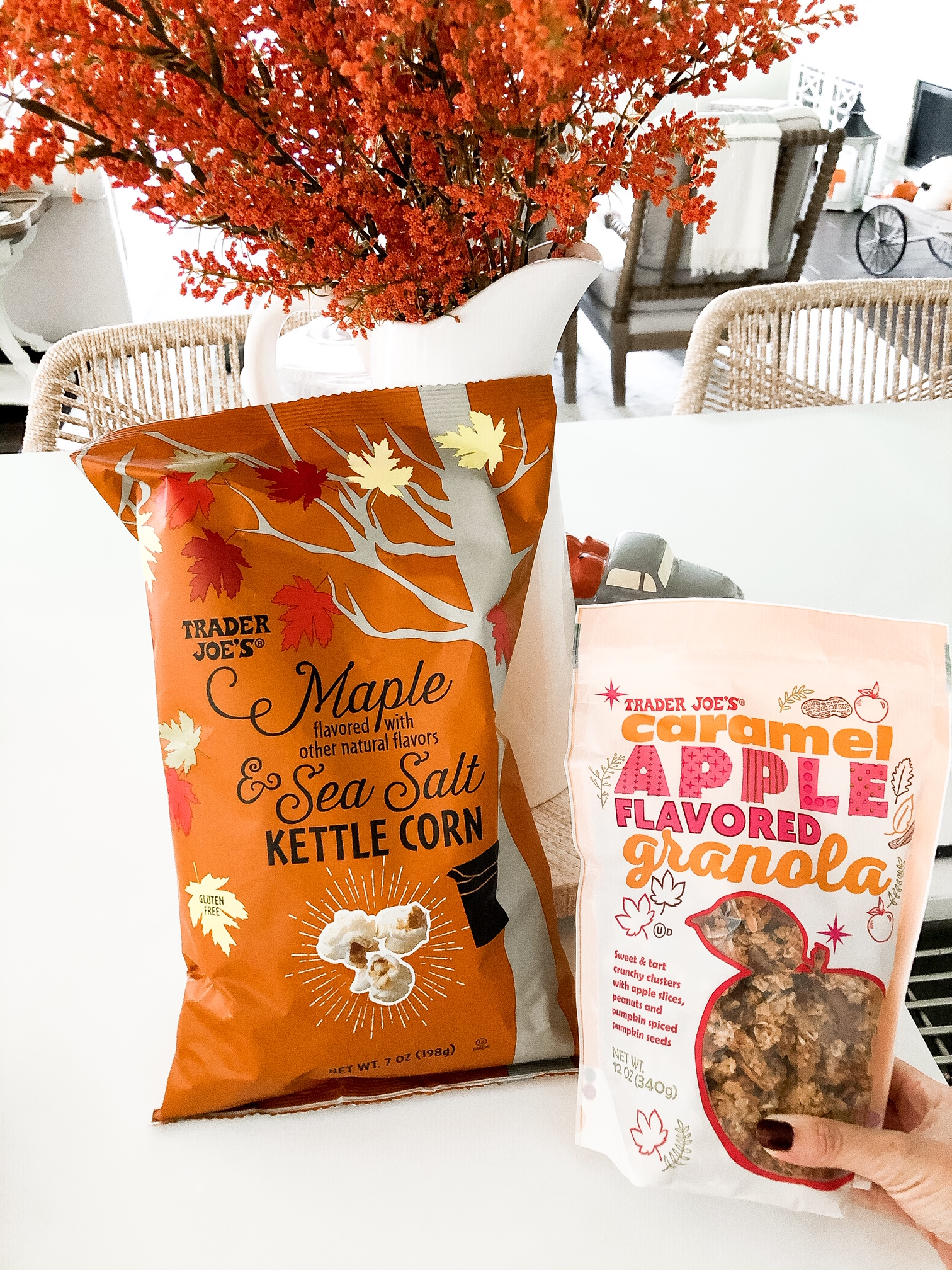 what fall items to buy at trader joes