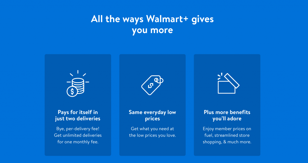 Walmart membership benefits