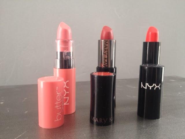 lipstick, NYX, Mary Kay, Ulta