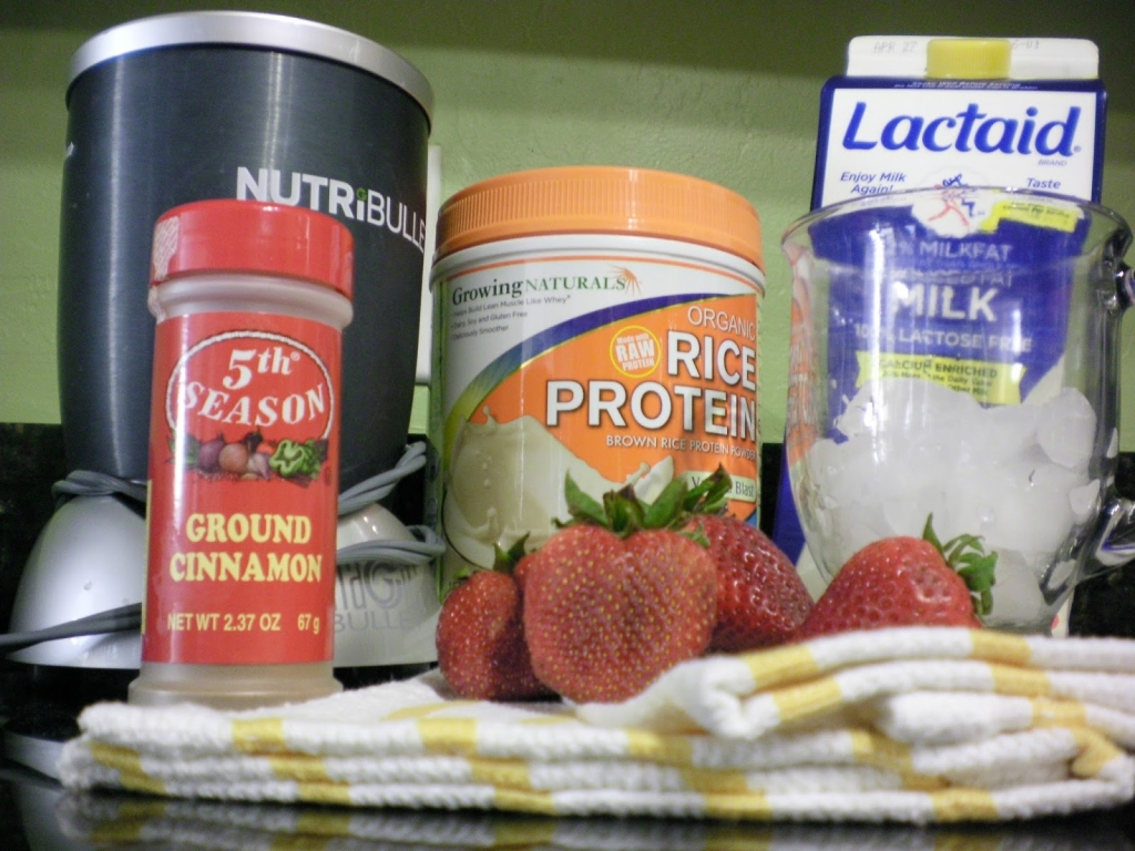 recipe, strawberries, nutri bullet, protien , healthy