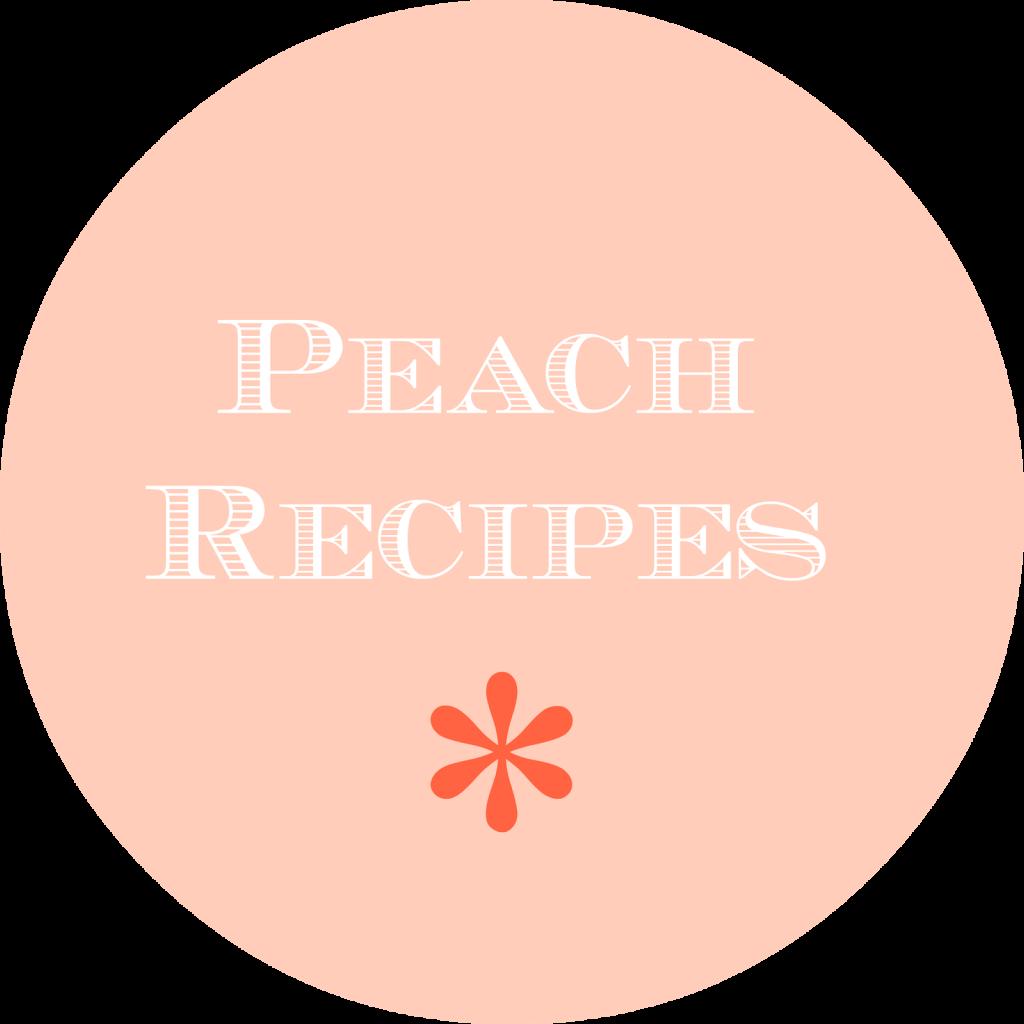 peaches, foodie, recipe