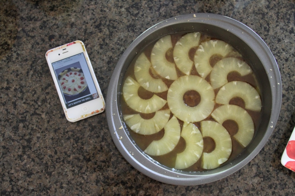 pineapple, baking