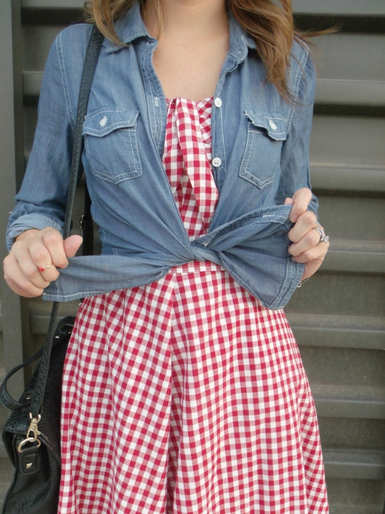 gingham+chambray