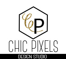blog design, blog, chic pixels