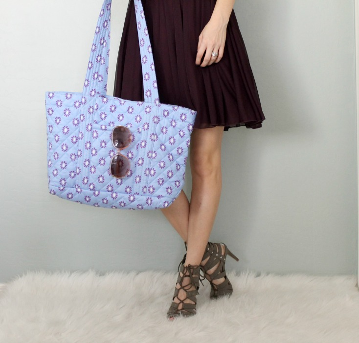 Quilted Koala, blogger, style, tote,makeup
