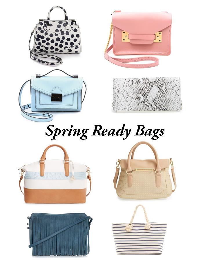 style, spring, handbags