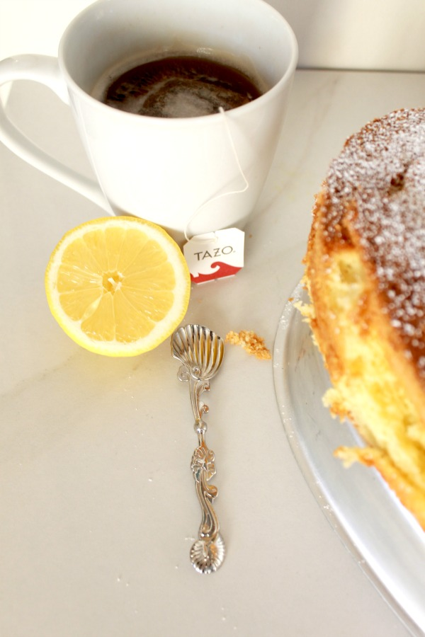 olive oil lemon cake, simply sutter, recipe