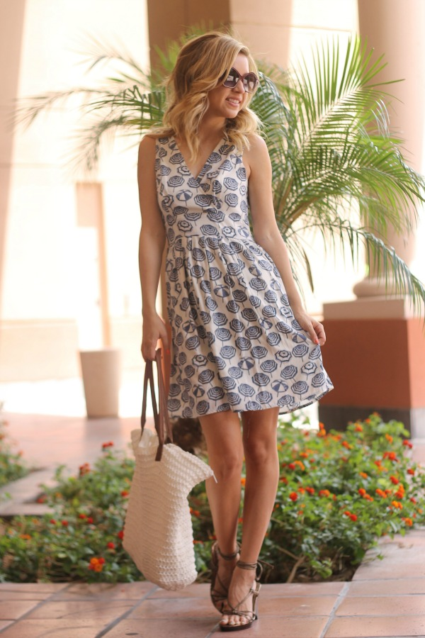 umbrella, dress, umbrella dress, maison jules. summer style, simply sutter